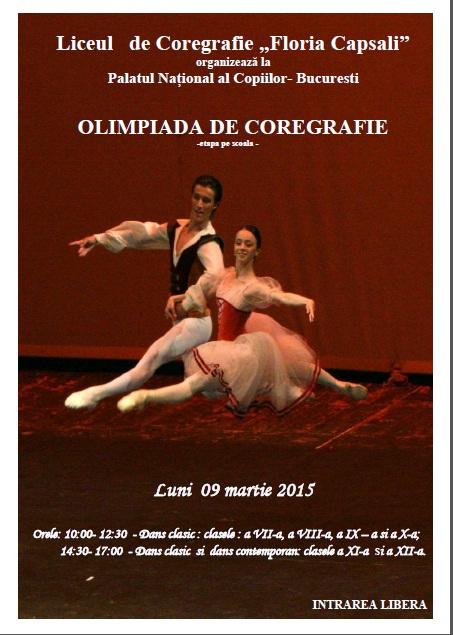 Olimpiada de Coregrafie 2015