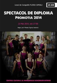 Spectacol de diploma 2014