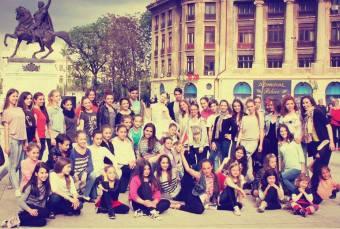 elevii liceului de coregrafie