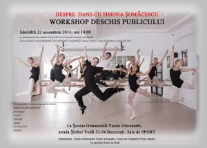 Despre Dans cu Simona Somacescu